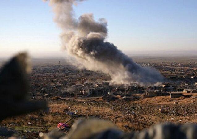 Koalisyonun Irak'taki hava saldırısı