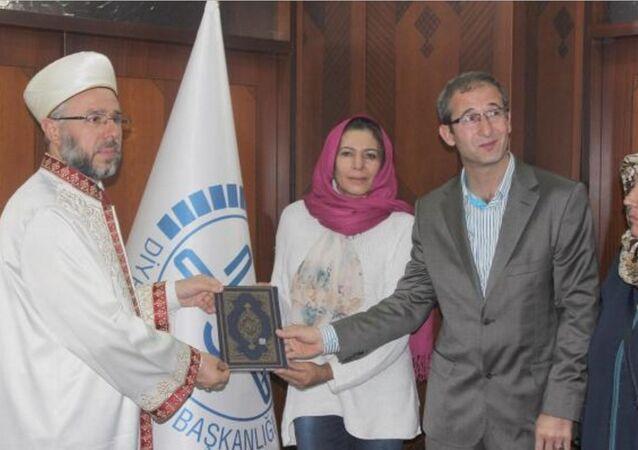 Brezilya vatandaşı olan Nunes Do Nascımento Ana, Kayseri Müftülüğü'nde düzenlenen tören ile Müslüman oldu.