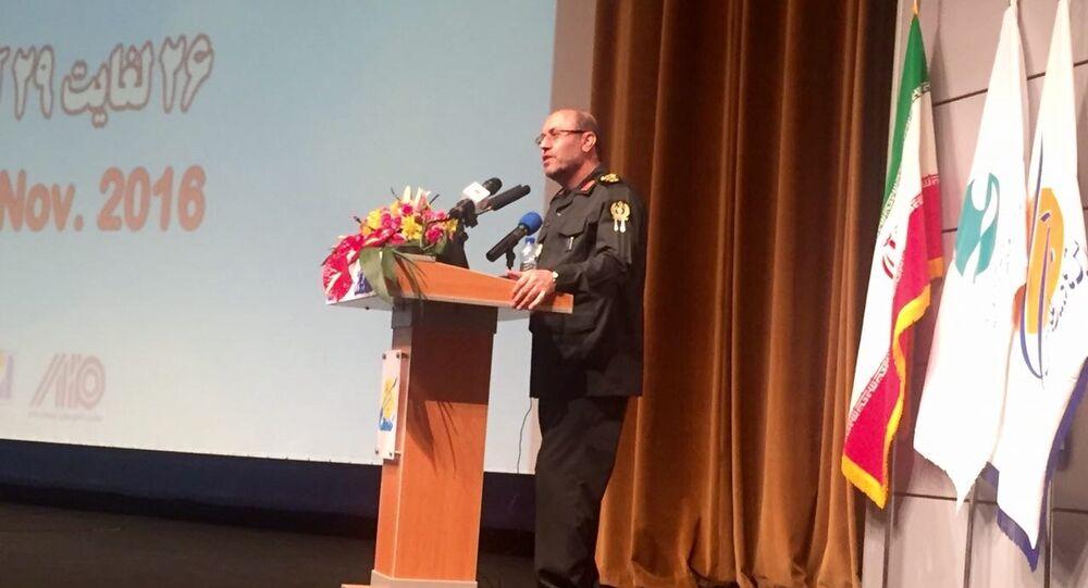 İran Savunma Bakanı Hüseyin Deghan'ın açılış törenindeki konuşması.