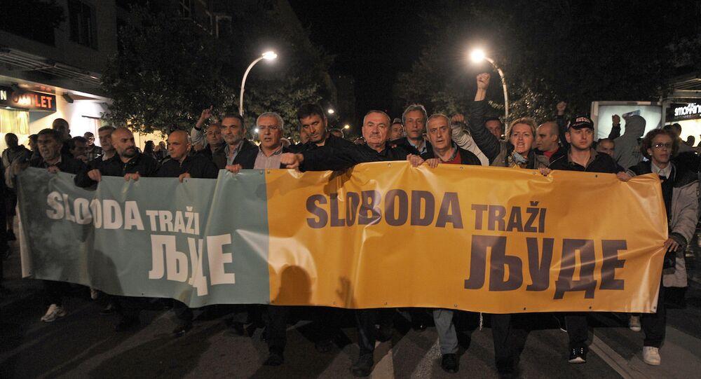 Karadağ'daki eylemler