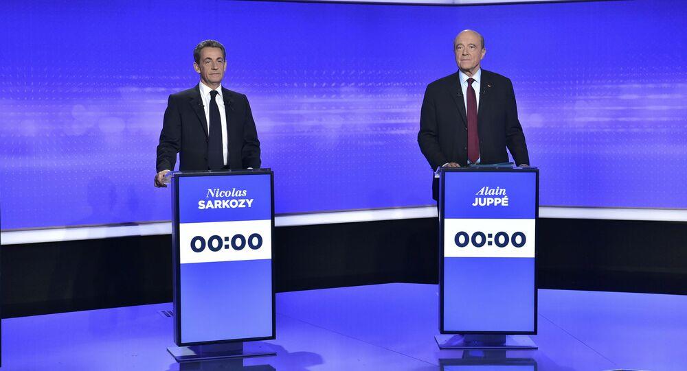 Fransa - Eski Başbakan Alain Juppe - Eski Cumhurbaşkanı Nicolas Sarkozy