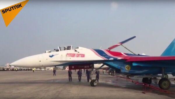 Rus Şövalyeler Basra Körfezi üzerinde - Sputnik Türkiye