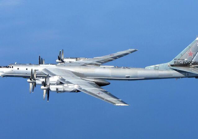 Tu-95 stratejik bombalama uçakları