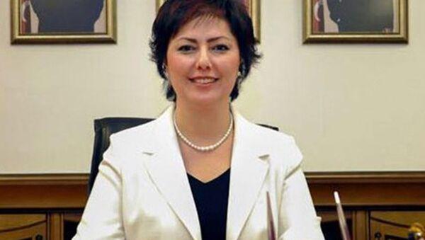 MHP Genel Başkanı Devlet Bahçeli'nin Başdanışmanı ve Kadın Kolları Genel Koordinatörü Nevin Taşlıçay - Sputnik Türkiye
