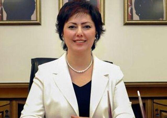 MHP Genel Başkanı Devlet Bahçeli'nin Başdanışmanı ve Kadın Kolları Genel Koordinatörü Nevin Taşlıçay