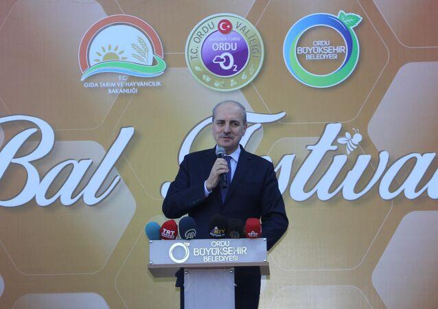 Başbakan Yardımcısı Numan Kurtulmuş, Ordu'da düzenlenen Bal Festivali'ne katıldı.