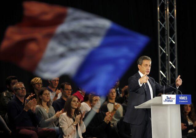 Fransa'da cumhurbaşkanı adayı Nicolas Sarkozy