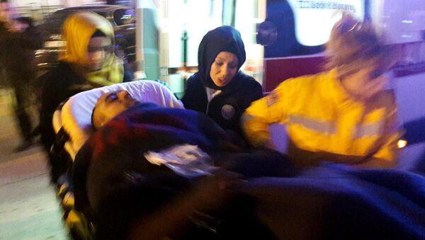 Suriye'deki IŞİD saldırısında yaralanan askerler Gaziantep'e getirildi. - Sputnik Türkiye