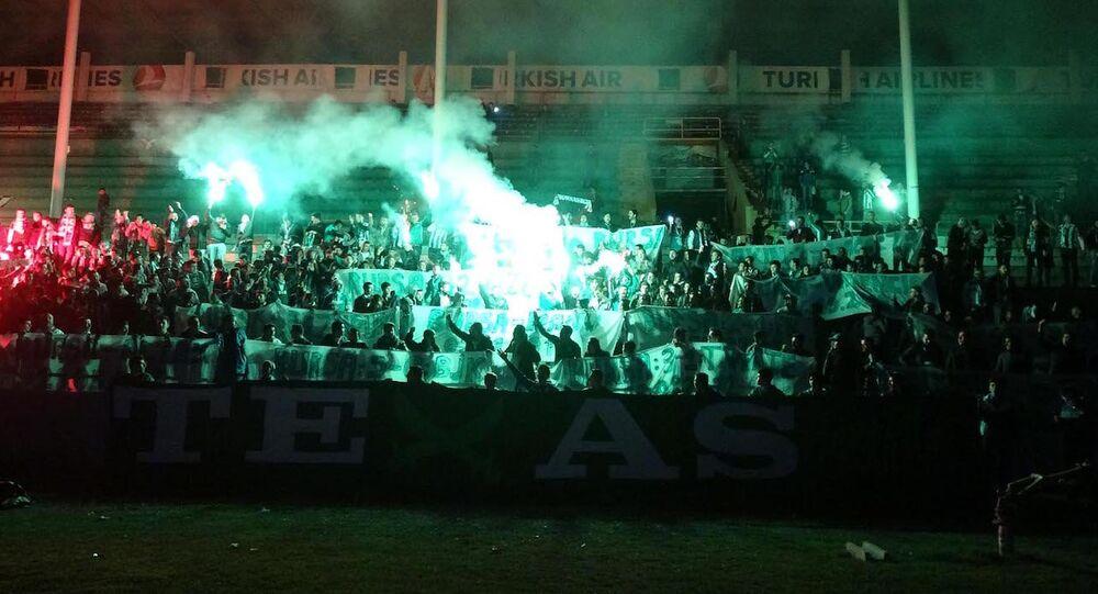 Bursaspor taraftarları