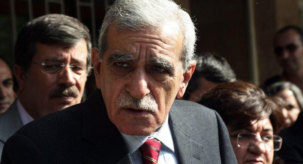 Mardin Belediye Başkanı Ahmet Türk