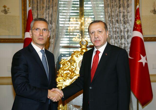 Recep Tayyip Erdoğan - Jens Stoltenberg