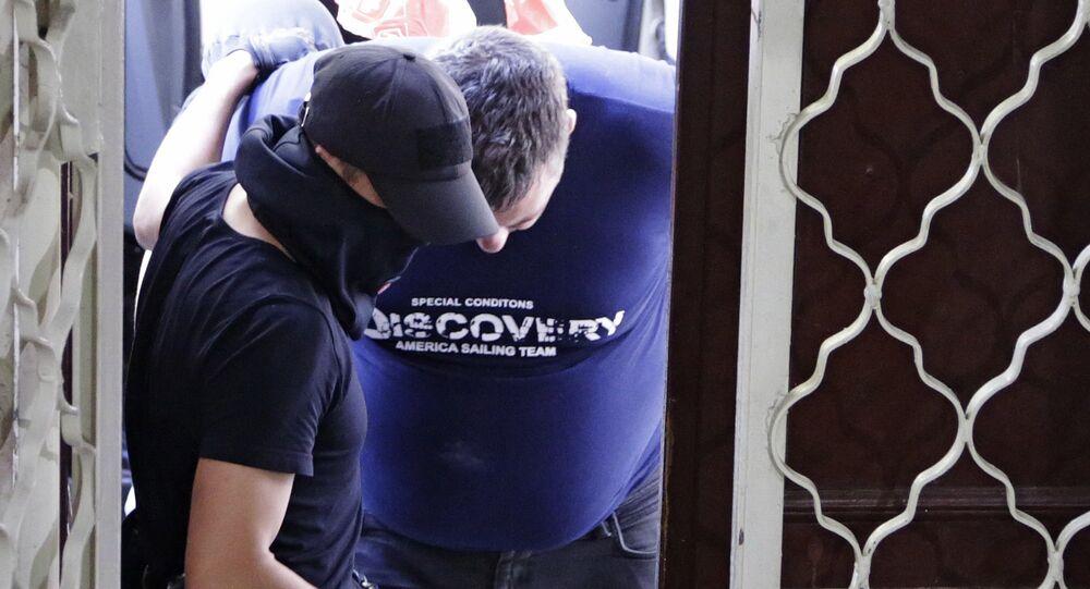 Kırım'da yakalanan Ukraynalı istihbaratçılar