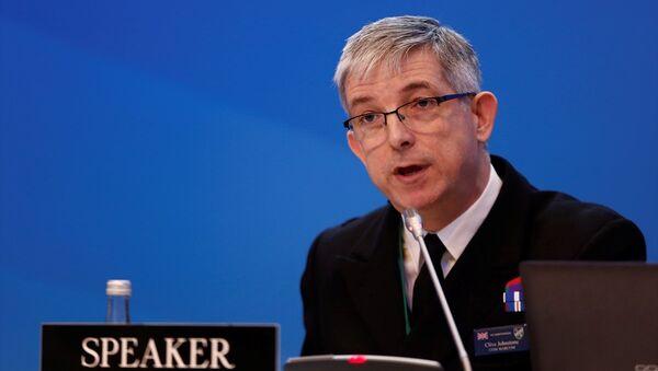 NATO Deniz Kuvvetleri Komutanı Koramiral Clive Johnstone - Sputnik Türkiye