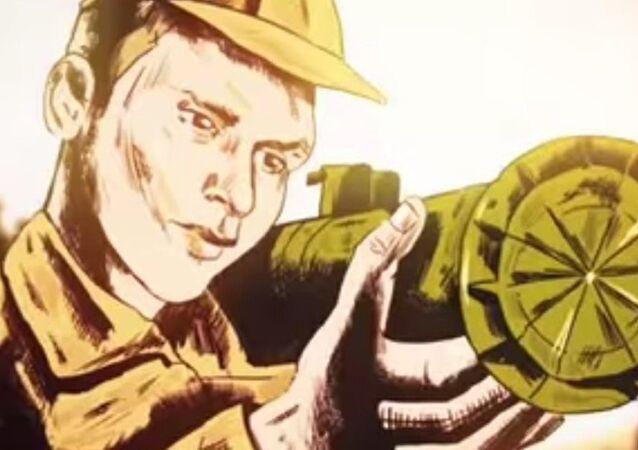 Andrey Timoşenkov'un kahramanlığının anlatıldığı animasyon film