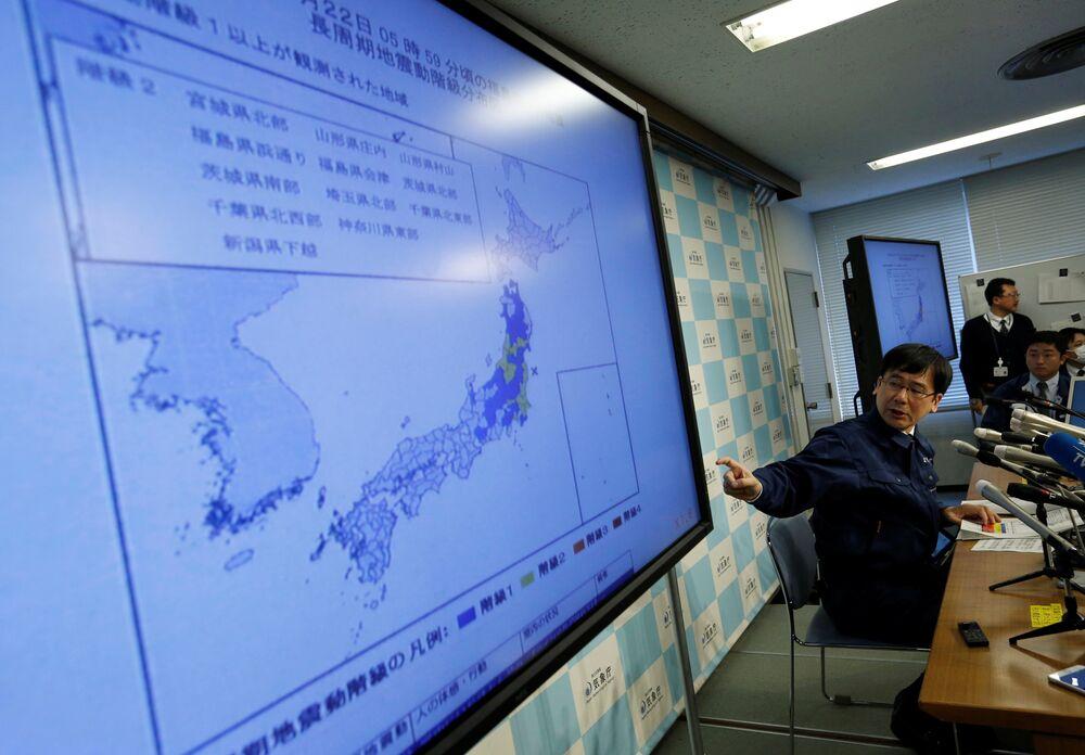 Japonya Meteoroloji Ajansı yetkilisi Koji Nakamura, depremle ilgili açıklamalarda bulundu.