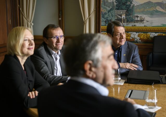 İsviçre'deki yoğunlaştırılmış Kıbrıs görüşmeleri
