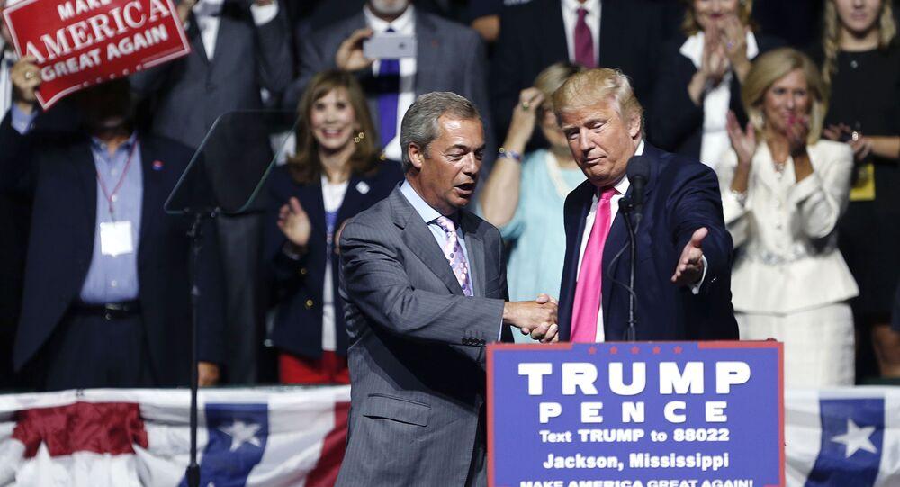 Donald Trump- Nigel Farage