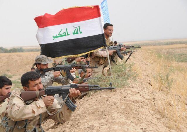 Irak ordusu, stratejik öneme sahip Kadisiye Mahallesini IŞİD'den aldı.