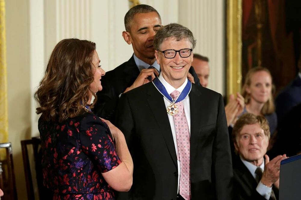 Barack Obama - Bill and Melinda Gates