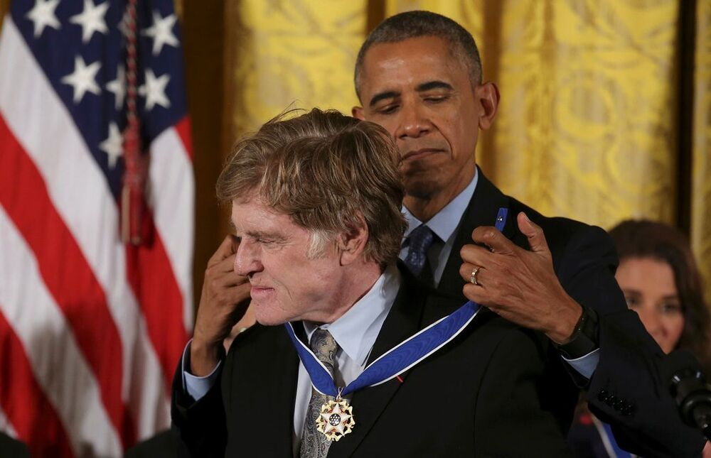 Barack Obama - Robert Redford