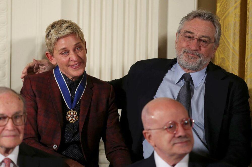 Robert De Nir - Ellen DeGeneres
