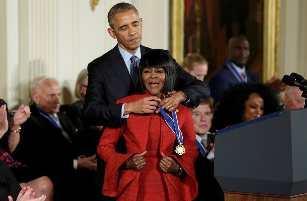 Barack Obama -  Cicely Tyson