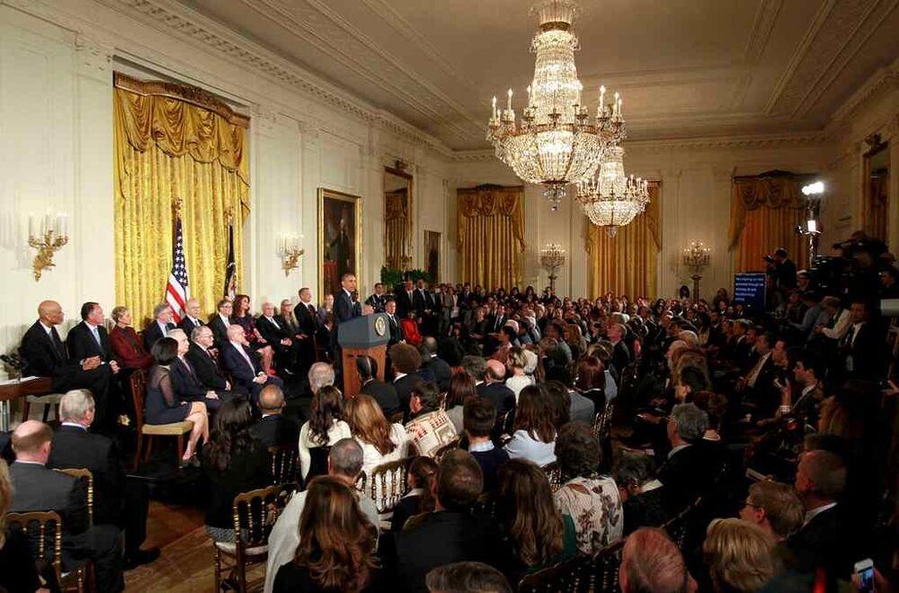 Barack Obama - Başkanlık Özgürlük Madalyası töreni