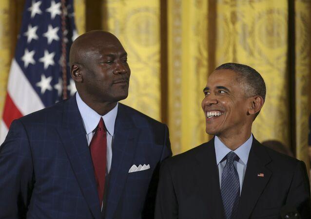 Barack Obama - Michael Jordan