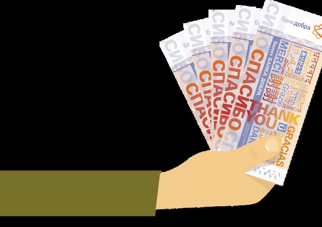 Rusya'da 'iyilik bankası' kuruldu
