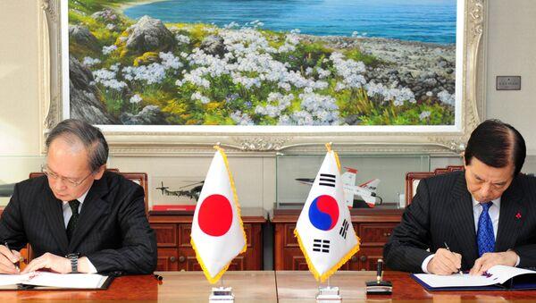 Güney Kore ile Japonya arasında askeri istihbarat paylaşımı anlaşması imzalandı. - Sputnik Türkiye