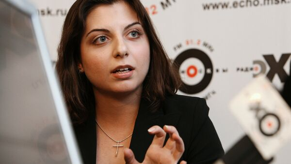 Sputnik ve Russia Today (RT) Genel Yayın Yönetmeni Margarita Simonyan - Sputnik Türkiye
