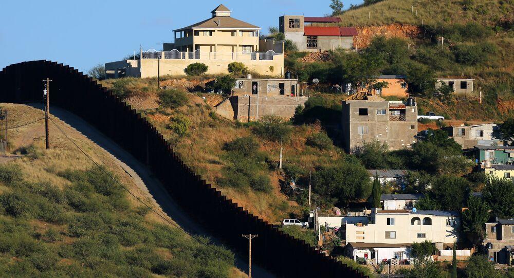 ABD-Meksika sınırındaki çitler