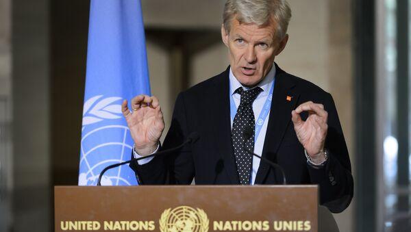 BM Suriye Özel Temsilcisi Staffan de Mistura'nın Danışmanı Jan Egeland - Sputnik Türkiye