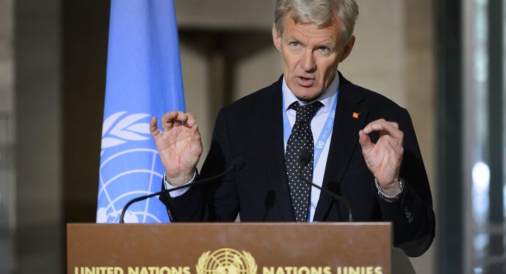 BM Suriye Özel Temsilcisi Staffan de Mistura'nın Danışmanı Jan Egeland