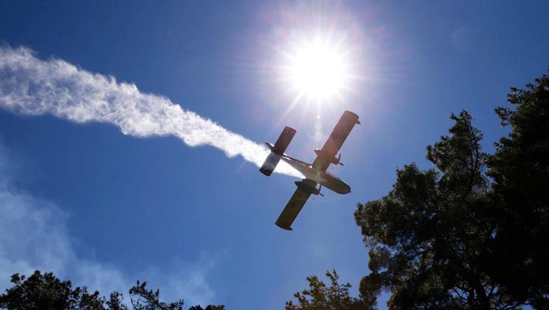 Türkiye, İsrail'e yangın uçağı gönderdi. - Sputnik Türkiye, 1920, 01.08.2021