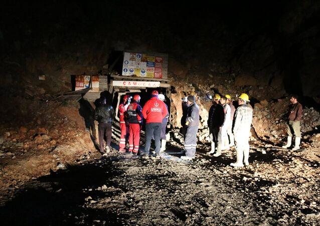 Maden ocağında göçük