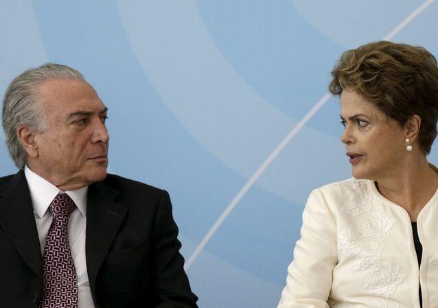 Michel Temer - Dilma Rousseff