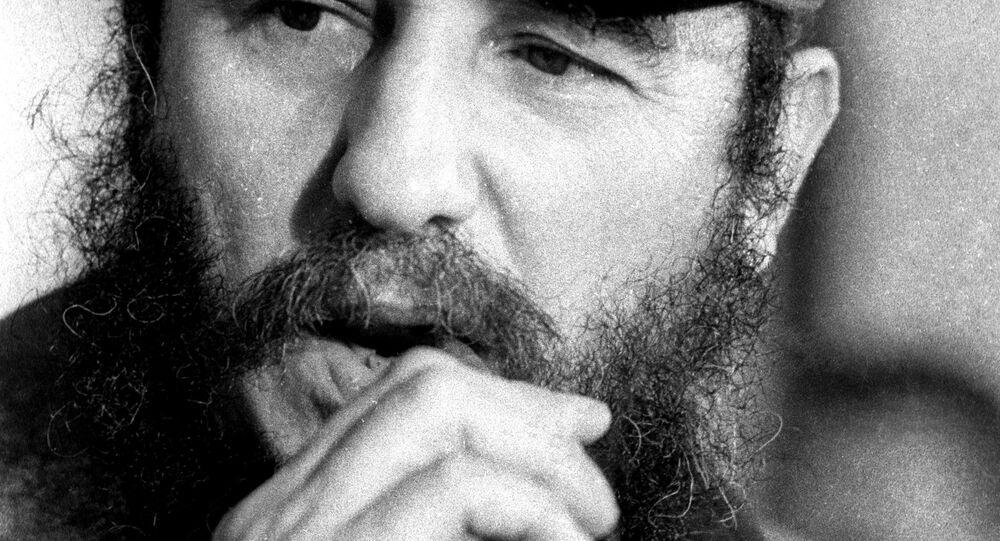 Küba Devrimi'nin lideri Fidel Castro (1976)