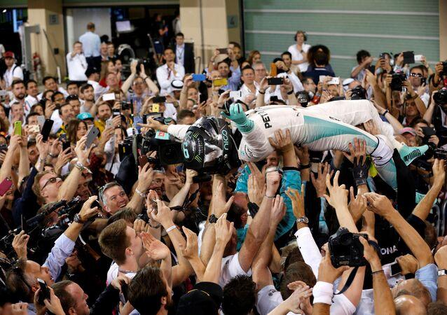F1 pilotu Nico Rosberg