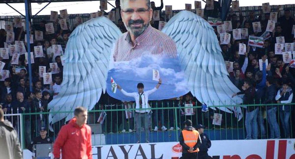 Amedspor taraftarı Tahir Elçi'yi unutmadı