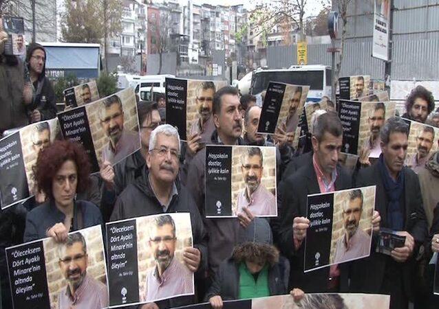 İstanbul'da Tahir Elçi anması