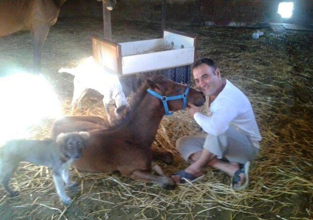 Bursa'da çobanlık yapan Serdar Okuyucu