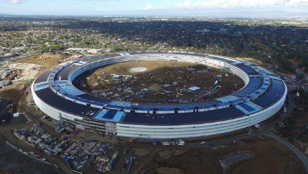 Apple'ın yeni merkezi Campus II - Sputnik Türkiye