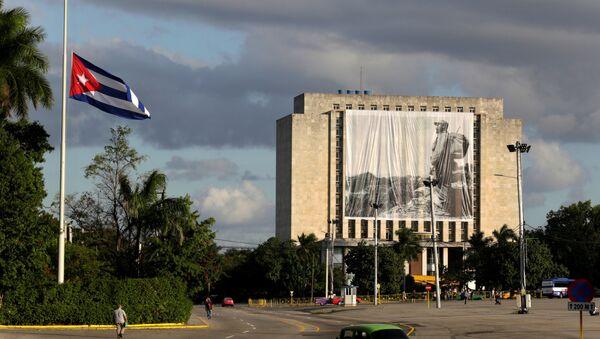 Küba Devrimi lideri Fidel Castro - Sputnik Türkiye