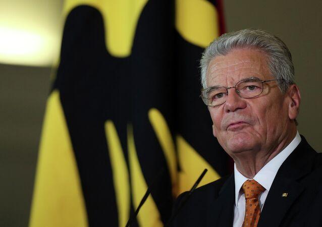 Almanya Cumhurbaşkanı Joachim Gauck