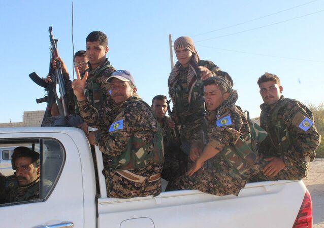 Demokratik Suriye Güçleri, Halep'te
