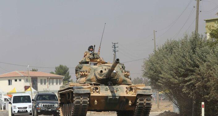 Suriye ordusuna ait tanklar El Bab'a iyice yaklaştı