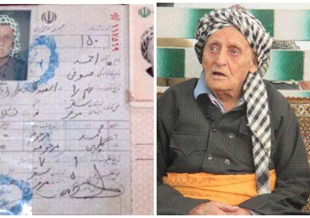 İran'ın en yaşlı insanı Ahmed Sufi