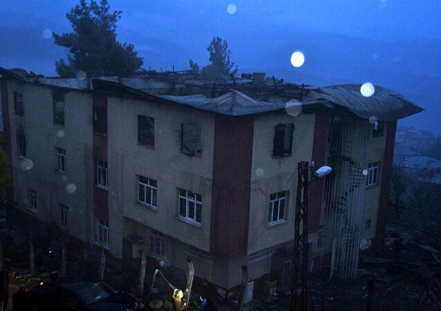 Adana'daki yurt yangını