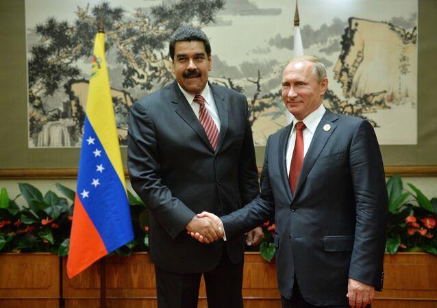Venezülla Devlet Başkanı Nicolas Maduro- Rusya Devlet Başkanı Vladimir Putin